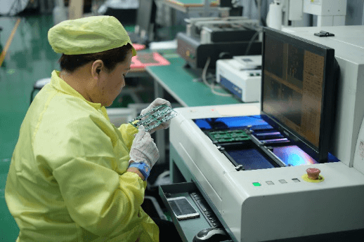 Post-Wave soldering Automated Optical Inspection pcb